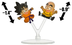 goku krillin mini-figure dragon ball series