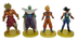 dragonball figures approx tall