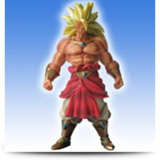 5 SS3 Broly Action Figure