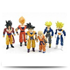 6X Dragonball Dragon Ball Z Lot 5 Action