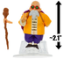 master roshi mini-figure dragon ball series