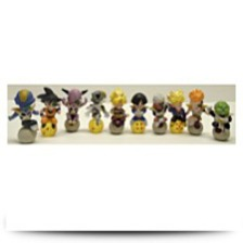 Dragon Ball Z 10 Piece Figure Set Featuring