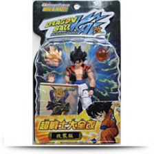 Kai Gogeta Action Figure Wfoil Card