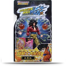Kai SS4 Goku Action Figure Wfoil Card