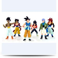 Set Of 6 Pcs Dragonball Z Dragonball