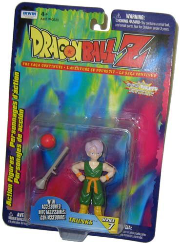 Trunks With Gray Bazooka Red Ball Dragonball Z 4 Action Figure Org Series 7 Toy