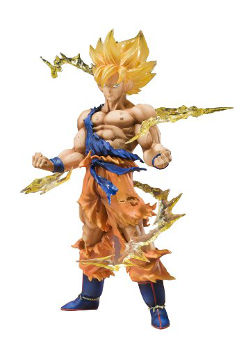 Tamashii Nations Super Saiyan Goku Dragonball